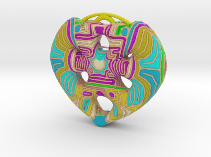 Heart 3 3d printed