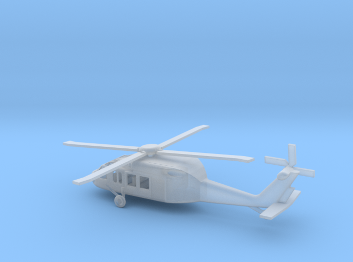 1/160 Scale UH-60 3d printed