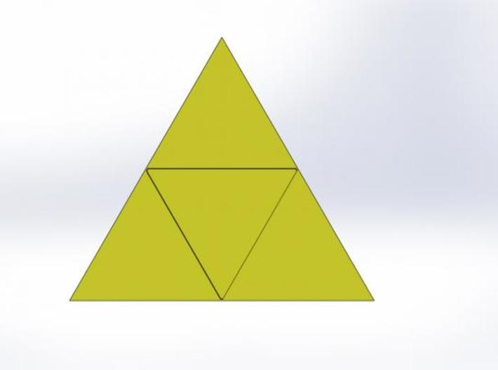 Triforce Seal 3d printed What the wax looks like