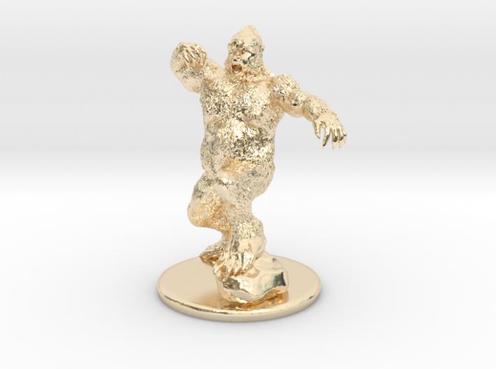 Yeti Miniature 3d printed