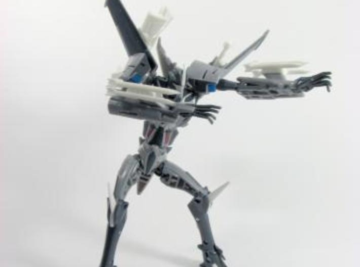 TFP (FE) deluxe Starscream set 3d printed