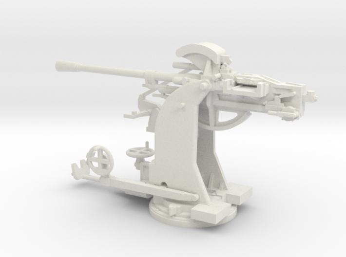 1/48 Breda 37mm 54 caliber Single mount Army AA 3d printed