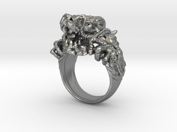 Supreme Mandarin Dragon Ring 3d printed
