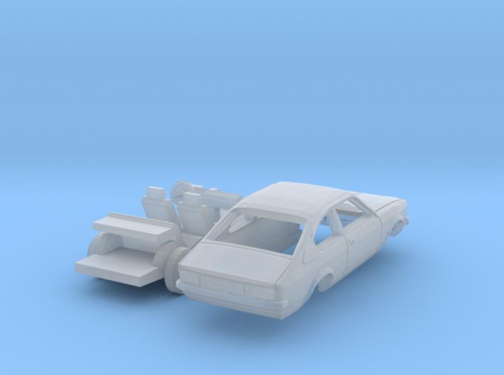Opel Kadett Coupé (TT 1:120) 3d printed