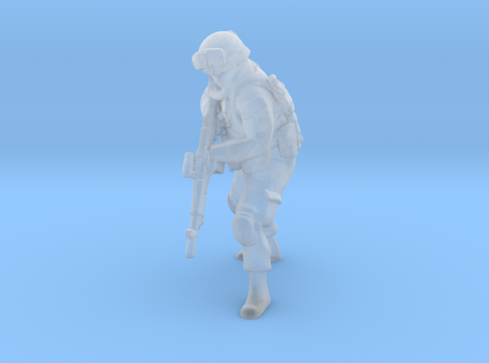 6 HO Modern Soldier (no base) 3d printed