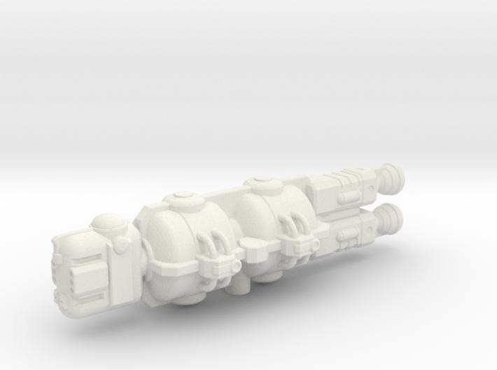 MCSF Fleet Tanker 3d printed