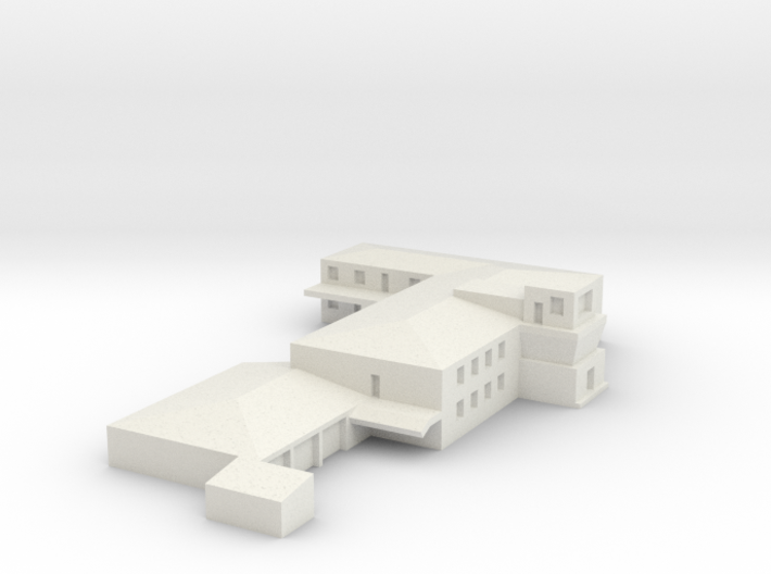 Airport Operations Building 3d printed