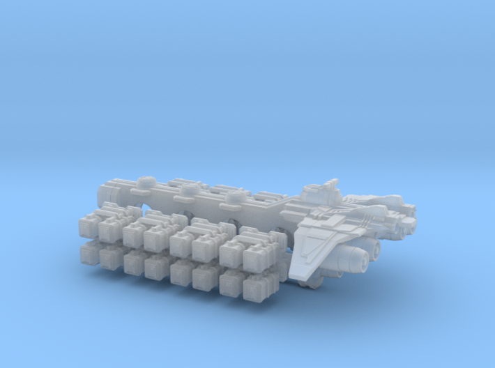 Homefleet Container Freighter 3d printed Homefleet Container Freighter