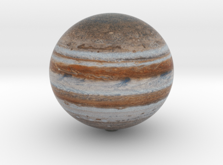 Jupiter 1:1 billion 3d printed