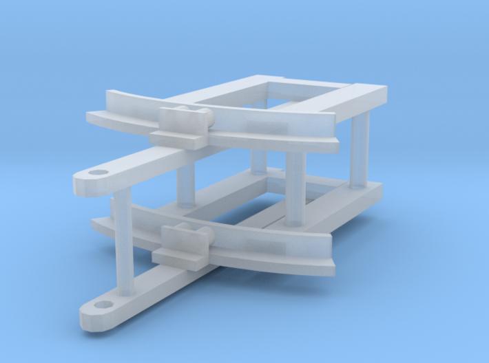 MF western drawbar x2 3d printed
