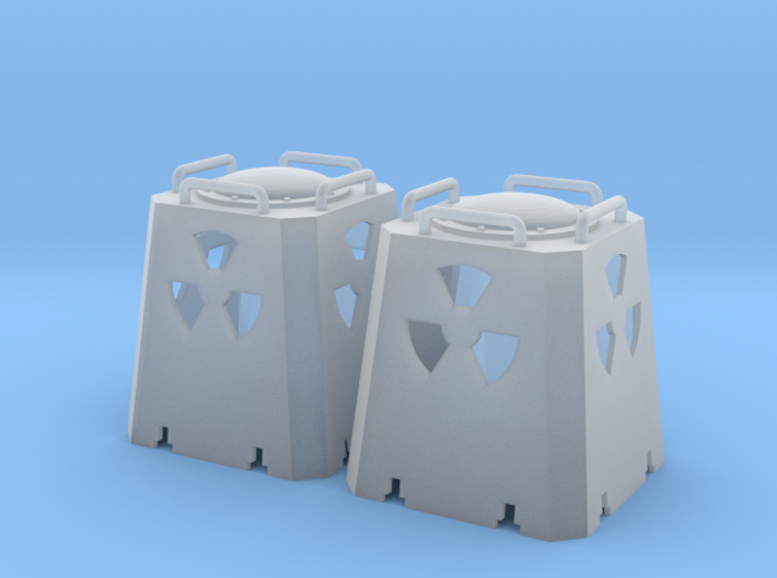 Radioactive Casks - Zscale 3d printed