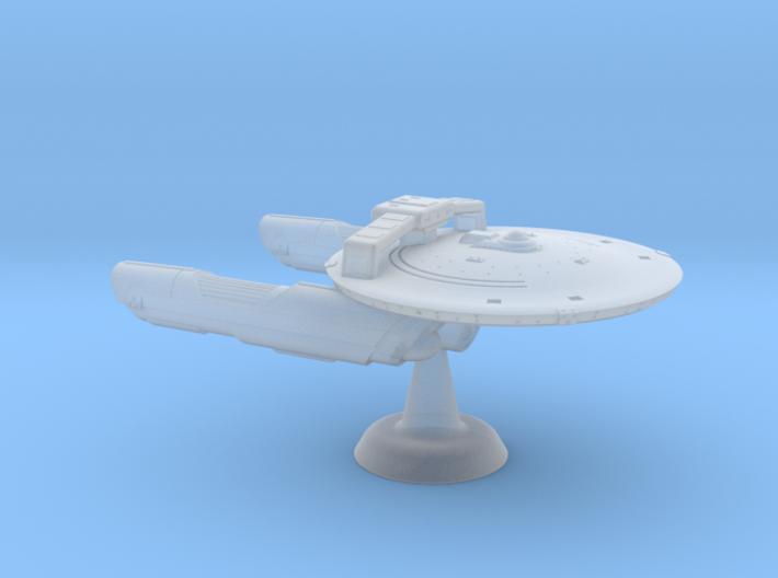 Terran Concord MkII Frigate-1:7000 3d printed