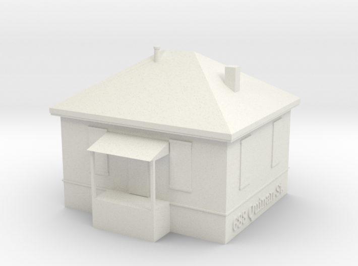 Quinan St House 3d printed