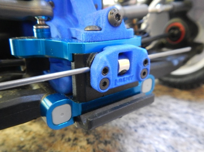 B6 B6D Rear Anti-Roll/Sway Bar Mount Associated 3d printed