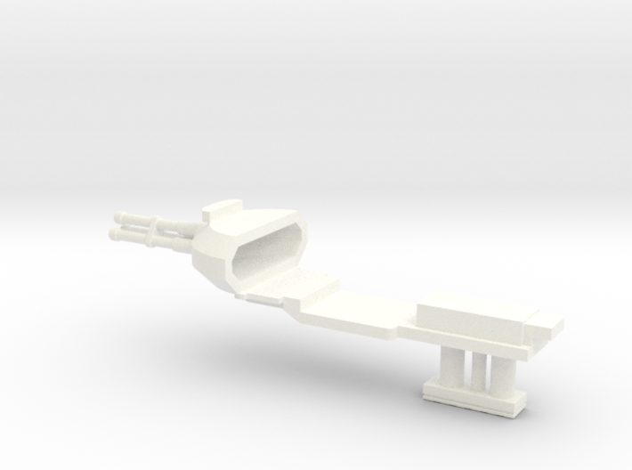 1:100 Pelican nose Gun Gear down 3d printed