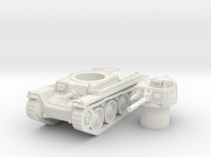 panzer 38t A scale 1/100 3d printed