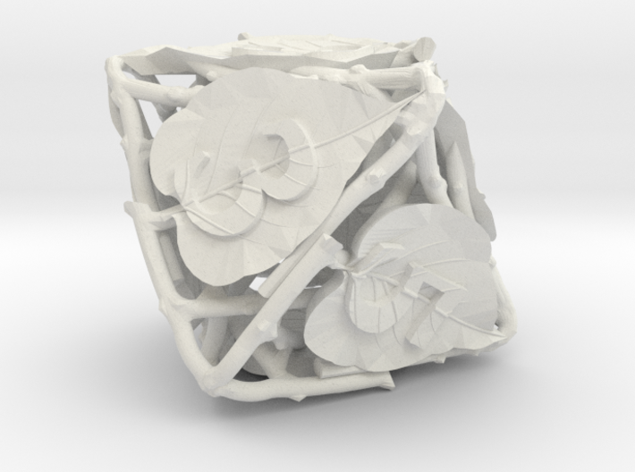 Botanical Die8 Ornament 3d printed