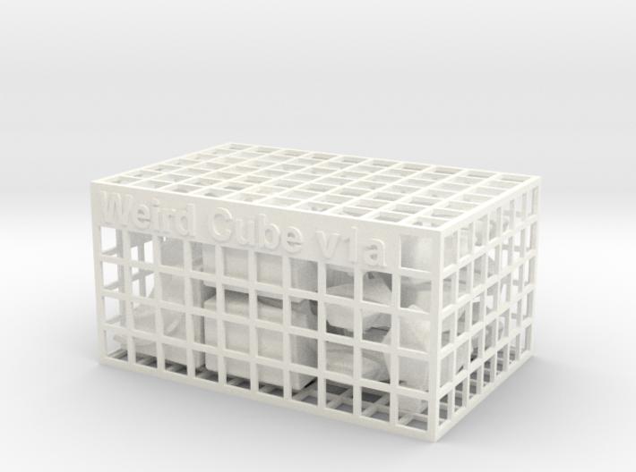Weird Cube 3d printed