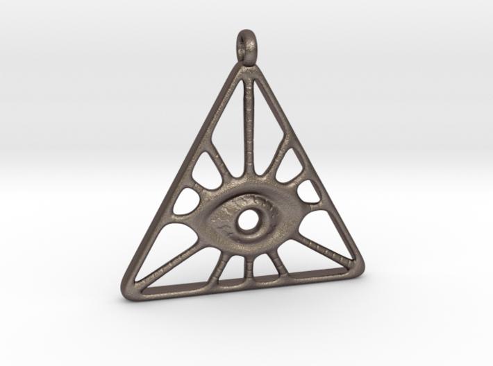 Illuminati Pendant 3d printed