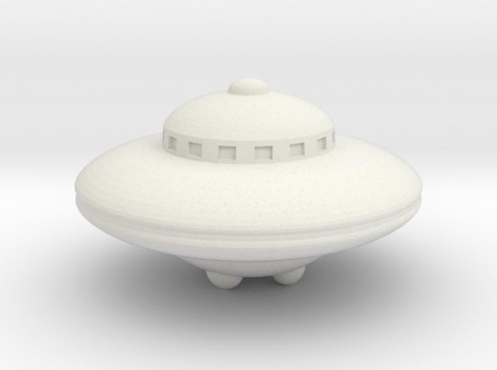 Planet X Spaceship 3d printed