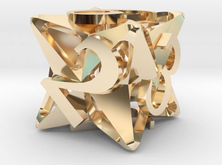 Pinwheel d6 3d printed