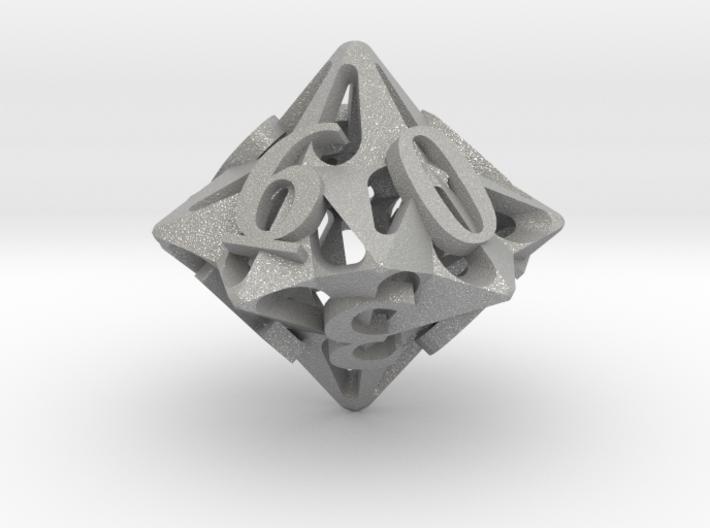 Pinwheel d10 3d printed