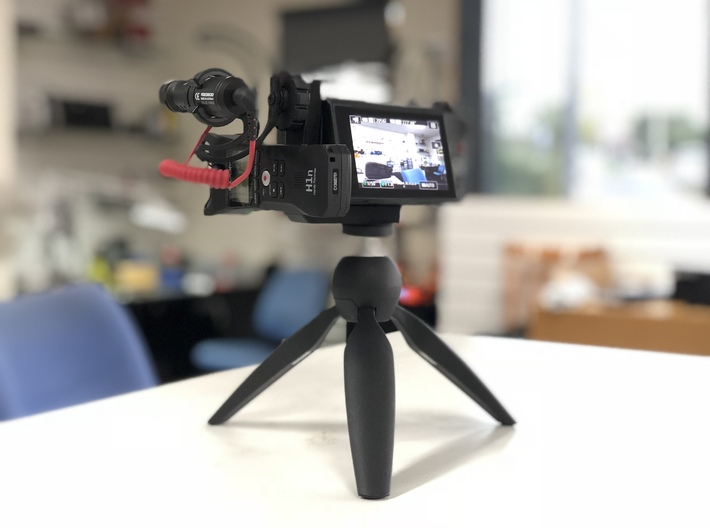 Canon G7X MKII Accessory Bracket  3d printed Fitment