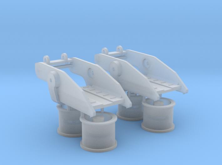 Baggerroller 3d printed