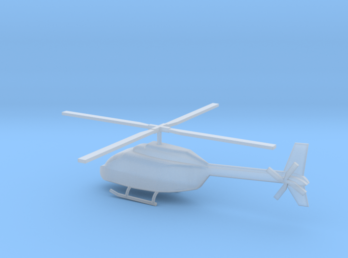 1/285 Scale OH-58 3d printed