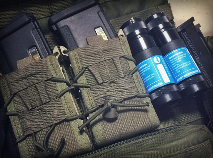 Burst XL Molle Adapter 3d printed