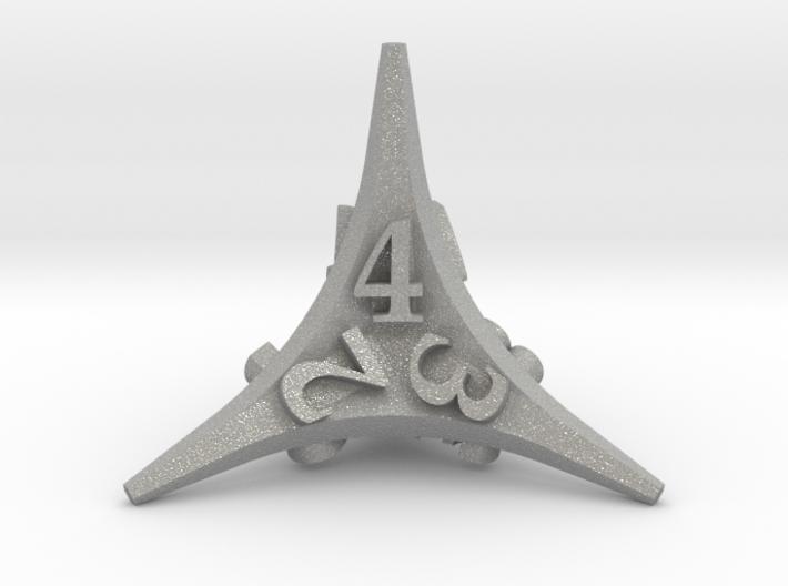 Caltrop d4 3d printed