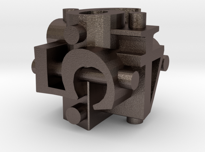 Ligature Die6 3d printed