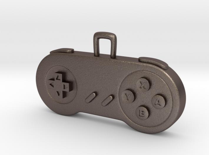 Retro Game Console Controller Pendant. 3d printed