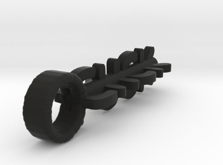 Cluster F#$K Key charm 3d printed