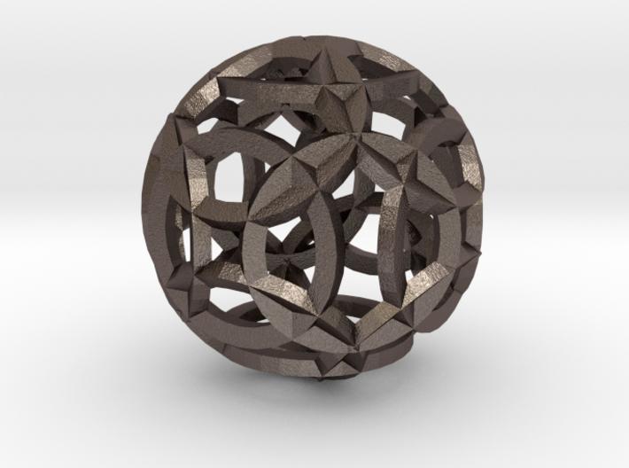 Sea Of Circles 3d printed