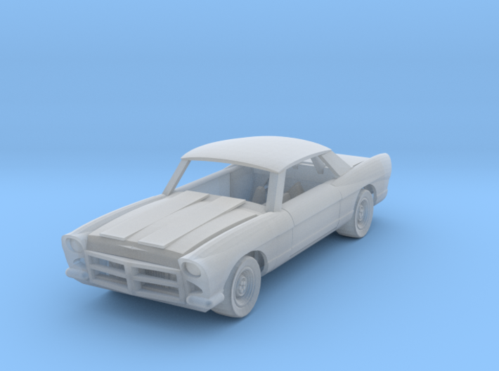 Plymouth Scale TT 3d printed