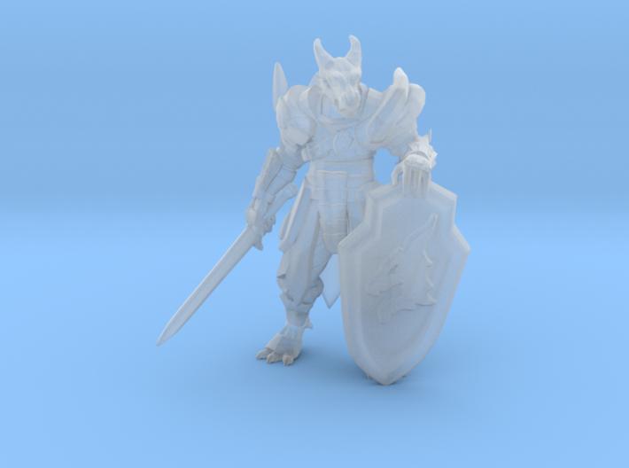 Dragonborn Paladin 3d printed