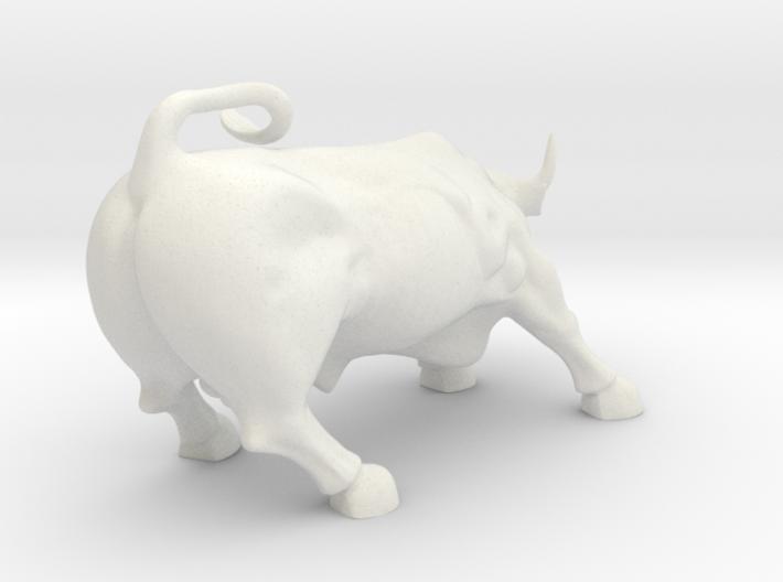 Wall Street Bull 3d printed