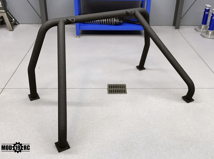 Single Roll Bar for RC4WD Blazer Pickup Conversion 3d printed