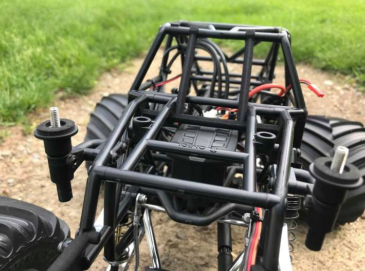 SMT10 Windshield Roll Bar 3d printed