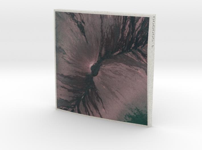 Mauna Loa, Hawai'i, USA, 1:500000 3d printed