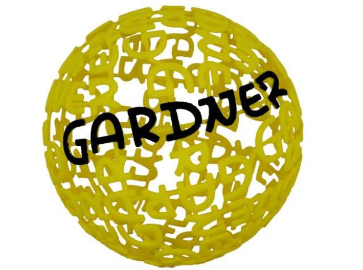 Gardner Ball 3d printed Gardner Ball