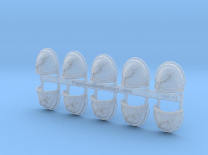 Emperors Legion - G3 Shoulder Pads x10 3d printed