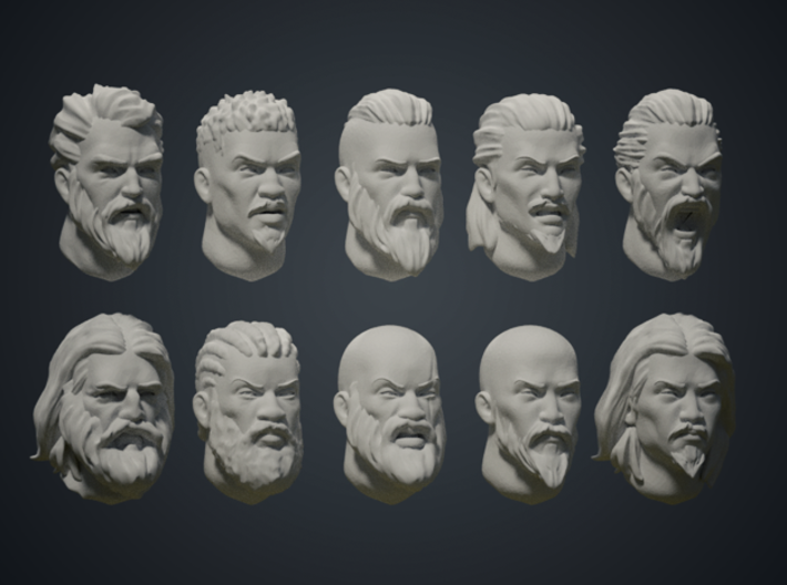 Warfaces 2 - Mix Male 3d printed