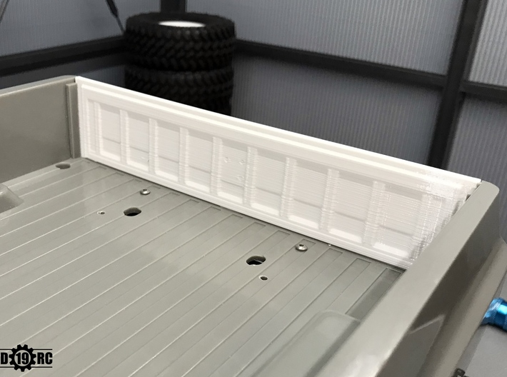 Tailgate - Late - Chevy for RC4WD Blazer 3d printed