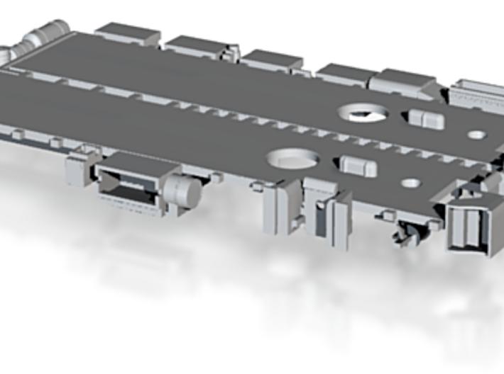 N Scale Pullman Sleeper Mech A/C Kit 3d printed