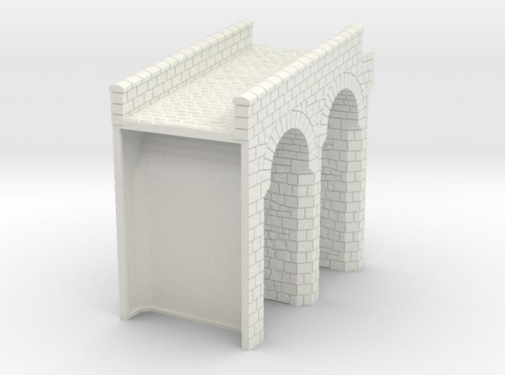 HOF024 - Bridge to the gate tower 3d printed