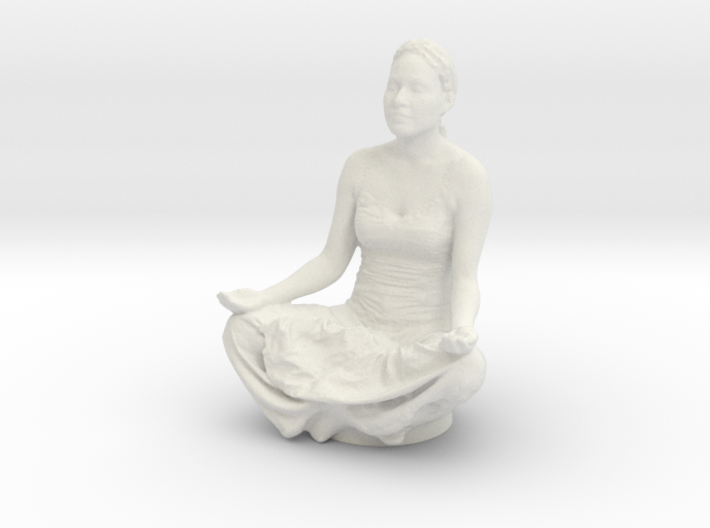 Lotus Pose 3d printed