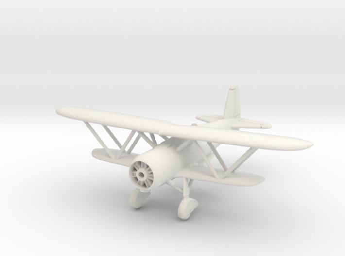 1/144 Fiat CR.42 3d printed