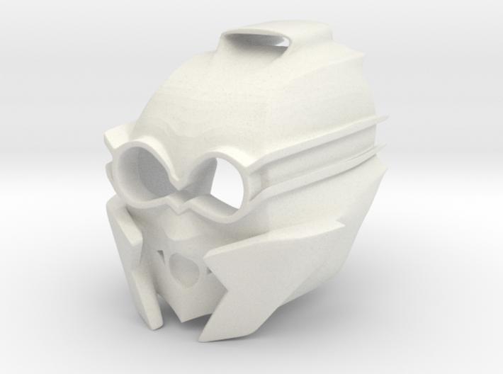 Kanohi Mask of Sensory Aptitude (Revised) 3d printed